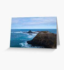 Cool coastal days (landscape) Greeting Card