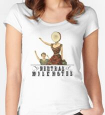 Neutral Milk Hotel - In the Aeroplane Over the Sea Women's Fitted Scoop T-Shirt