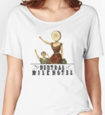 Neutral Milk Hotel - In the Aeroplane Over the Sea Women's Relaxed Fit T-Shirt