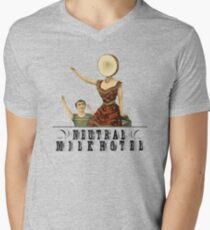 Neutral Milk Hotel - In the Aeroplane Over the Sea Men's V-Neck T-Shirt