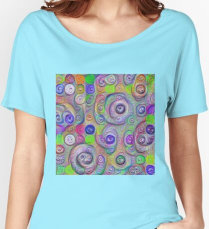 Space snowballs #DeepDreamed Relaxed Fit T-Shirt