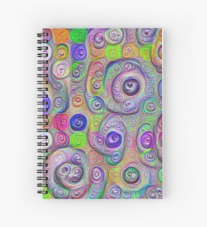 Space snowballs #DeepDreamed Spiral Notebook