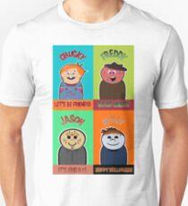 Horror Movie Friends Unisex T-Shirt