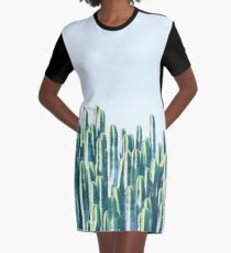 Cactus V2 #redbubble #home #lifestyle #buyart #decor Graphic T-Shirt Dress