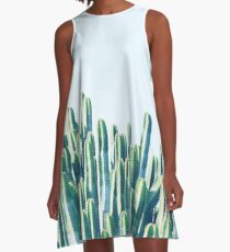 Cactus V2 #redbubble #home #lifestyle #buyart #decor A-Line Dress