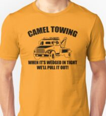 Camel Towing Mens T-Shirt Tee Funny Tshirt Tow Service Toe College Humor Cool Unisex T-Shirt