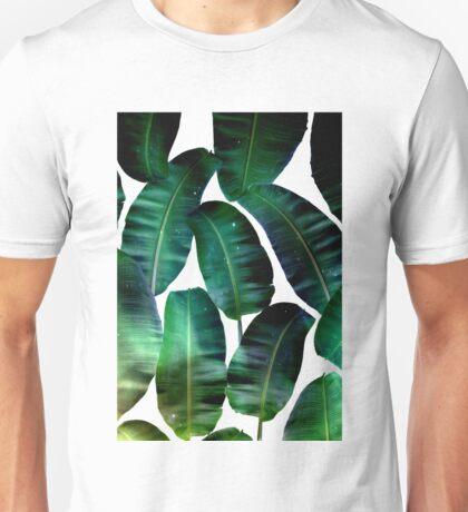 Cosmic Banana Leaves #redbubble #lifestyle Unisex T-Shirt