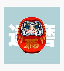 Daruma Doll Photographic Print