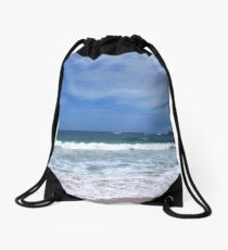 Seascape - Depot Beach - South Coast Drawstring Bag