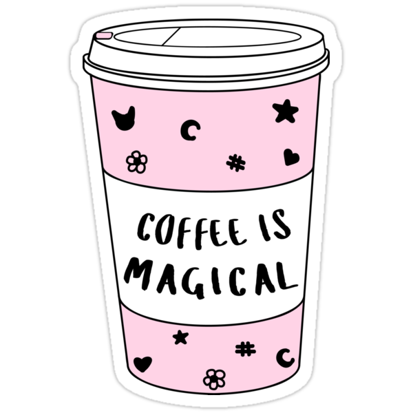 Quot Coffee Is Magical ★ Trendy Hipster Tumblr Meme Quot Stickers