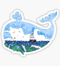Marine adventure Sticker