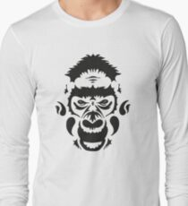 Tribal Gorilla Long Sleeve T-Shirt