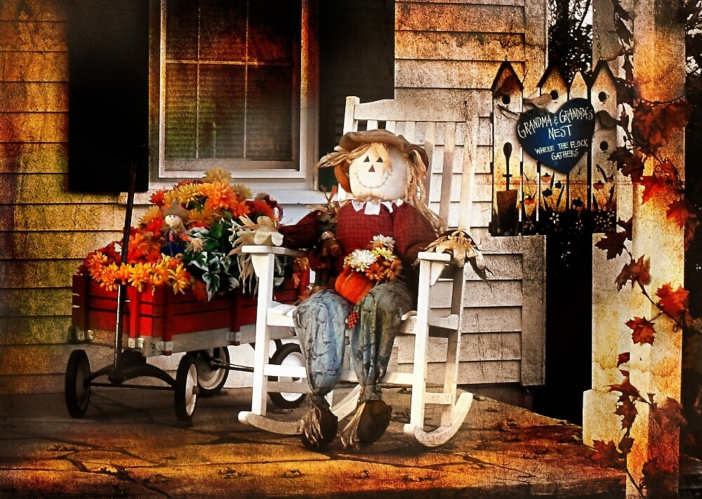 The Fine Art of Sitting on the Porch by Nadya Johnson
