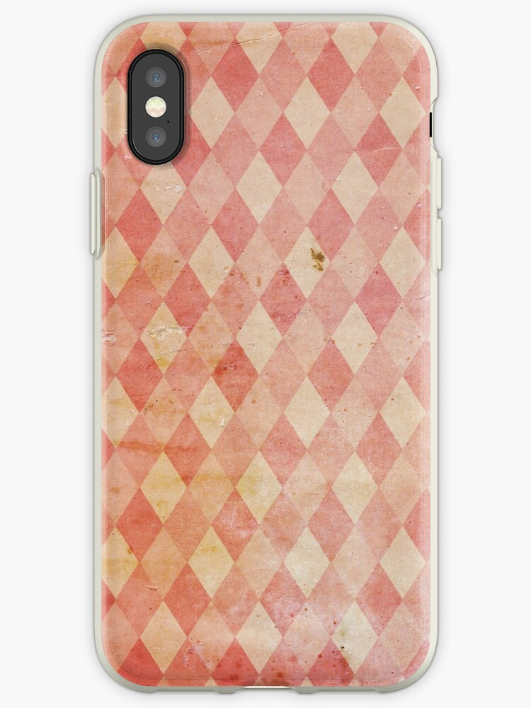 Vintage Geometric Wallpaper Iphone Case By Lost Found