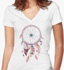 Dreamcatcher 3 Women's Fitted V-Neck T-Shirt