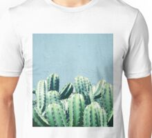 Cactus & Teal #redbubble #lifestyle Unisex T-Shirt