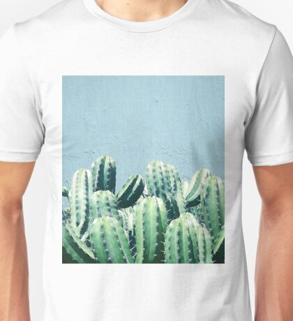 Cactus & Teal #redbubble #lifestyle T-Shirt