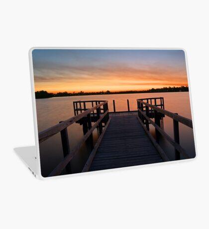 Shelley Jetty Perth Western Australia. Laptop Skin
