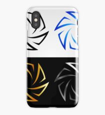 Aperture in different colors  iPhone Case/Skin