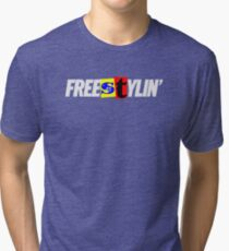 Freestylin Graphic Tri-blend T-Shirt