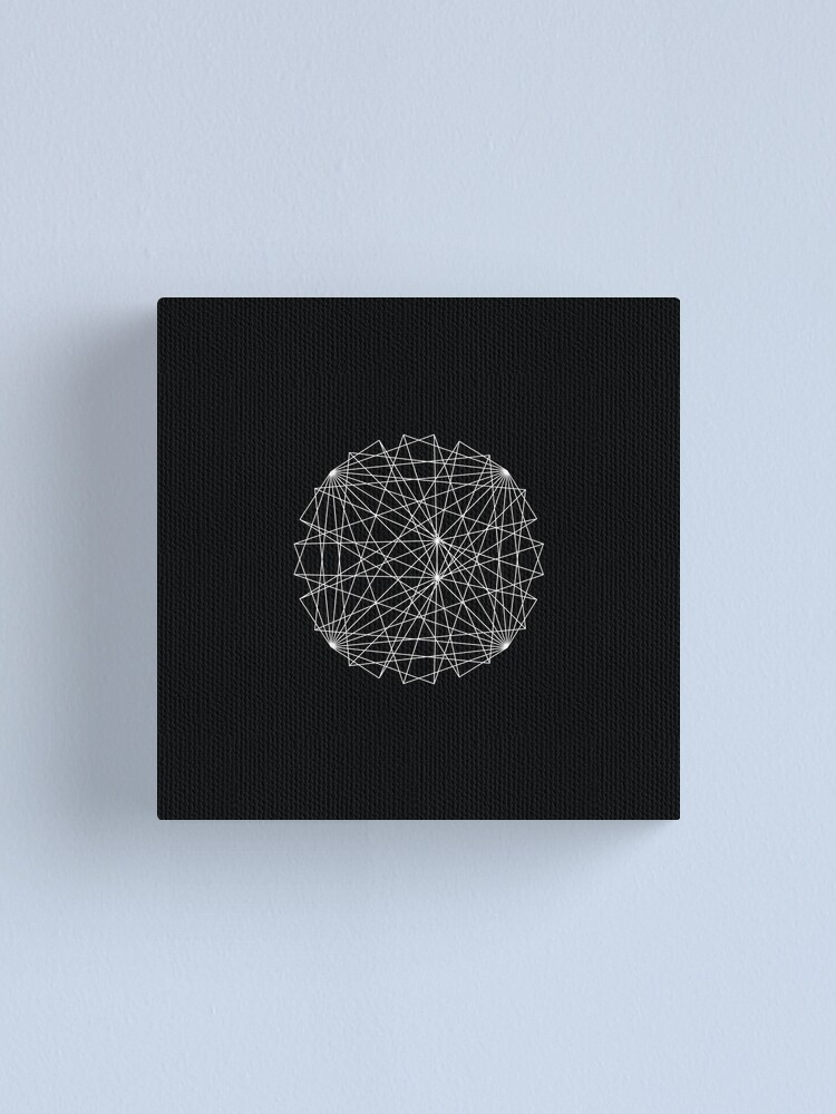 Alternate view of Geometric 5 Canvas Print