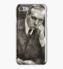 Sir Arthur Conan Doyle Author iPhone Case/Skin