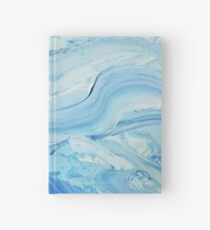 Blue Impasto Hardcover Journal