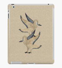 Medieval Illuminated Swans iPad Case/Skin