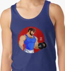 ADAM LIKES WORKINGOUT Tank Top