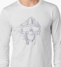 mf doom mask Long Sleeve T-Shirt