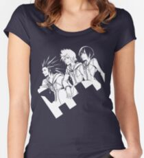Kingdom Hearts 358/2 Days (blue) Women's Fitted Scoop T-Shirt