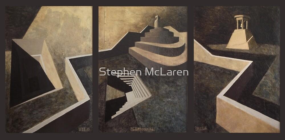 silo memorial bell by Stephen McLaren