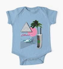BUSINESS CLASS '84 COLLECTION Short Sleeve Baby One-Piece