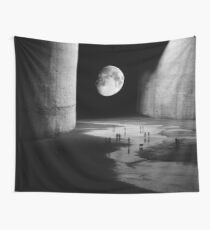 To the Moon Wall Tapestry