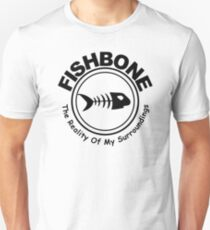 Fishbone The Reality of My Surroundings Rock Black Hooded Sweatshirt Size S M L XL Unisex T-Shirt