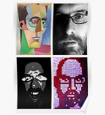 self portraits  Poster