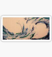 Abstract sea Sticker