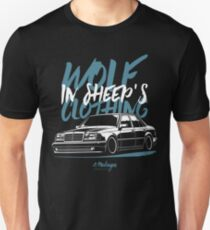 Wolf in Sheep's Clothing. Mercedes E500 W124 Unisex T-Shirt