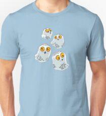 Snowy Owls pattern (Bubo scandiacus) T-Shirt