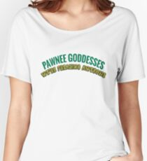 Pawnee Goddesses Leslie Knope Women's Relaxed Fit T-Shirt