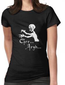 Grr... Argh... Womens Fitted T-Shirt
