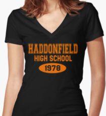 Haddonfield High School 1978 Women's Fitted V-Neck T-Shirt