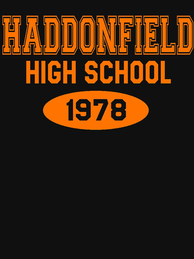 Escuela secundaria de Haddonfield 1978 de movie-shirts