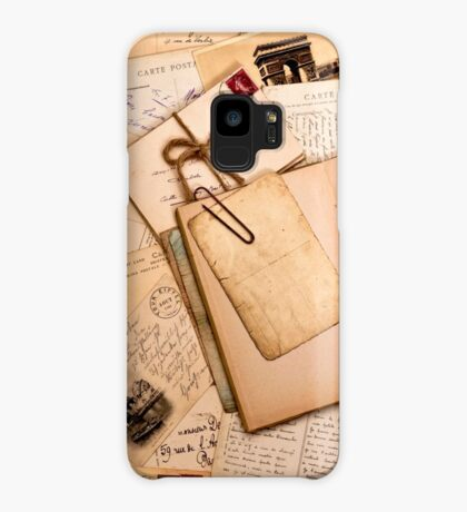 Vintage letters and postcards 1 Case/Skin for Samsung Galaxy