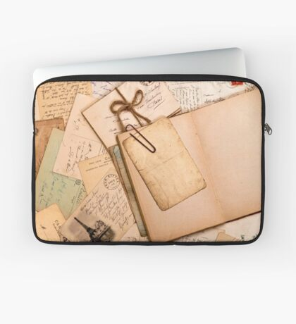 Vintage letters and postcards 1 Laptop Sleeve