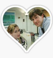 Jim and Pam Sticker