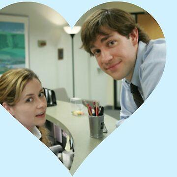 Jim y Pam de TellAVision