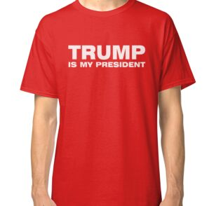 TRUMP Is My President Official INFOWARS T-Shirt Alex Jones Hillary ...
