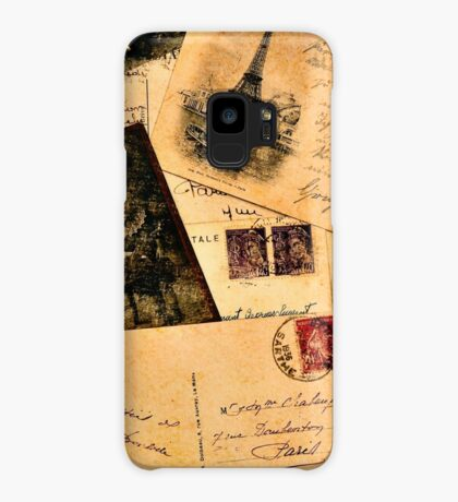 Vintage letters and postcards 2 Case/Skin for Samsung Galaxy