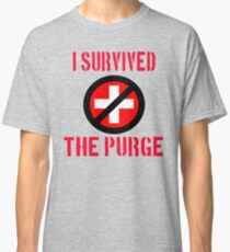 I Survived The Purge Classic T-Shirt